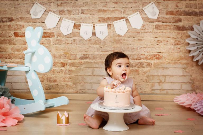 SMASH CAKE EN CASA